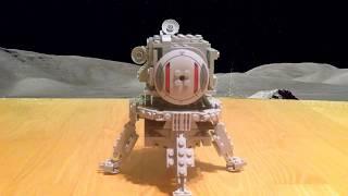 lego NASA Apollo 11 lunar lander | lądownik księżycowy M.O.C.