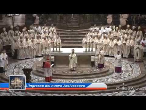 Ingresso in Diocesi di Mons. Mario Delpini - SPECIALE CHIESATV canale 195