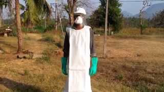 PESTICIDES| INSECTICIDES| SPRAYING SAFETY PRECAUTIONS AND EQUIPMENT