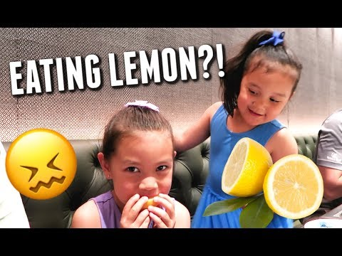 eating-a-lemon-with-no-reaction!---itsjudyslife