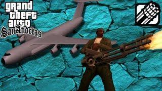 GTA San Andreas - Em Busca do Andromada - Miniguns