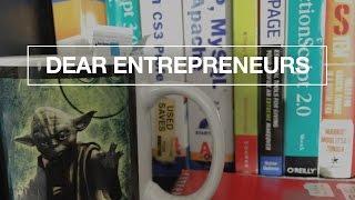 Audacity. Ego, and Success | Dear Entrepreneurs 26