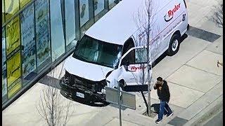 Van Plows into Pedestrians in Toronto - LIVE BREAKING NEWS COVERAGE