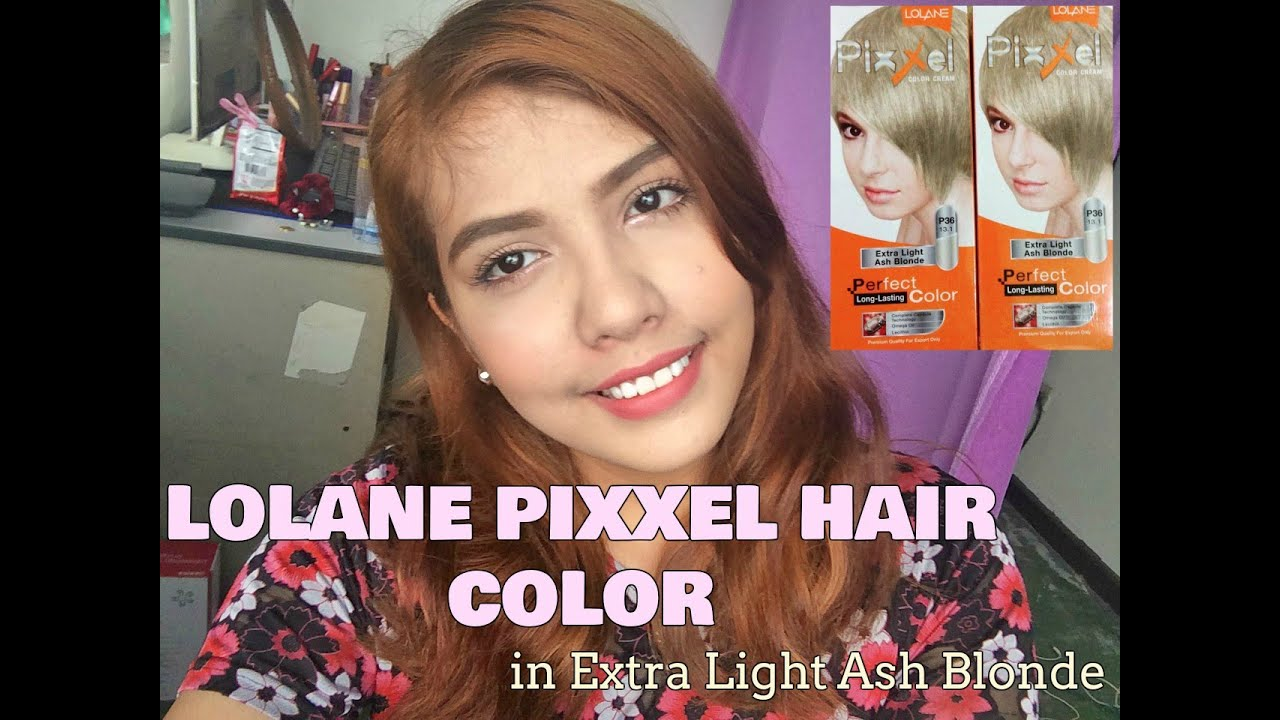 Lolane Pixxel Hair Color In Extra Light Ash Blonde