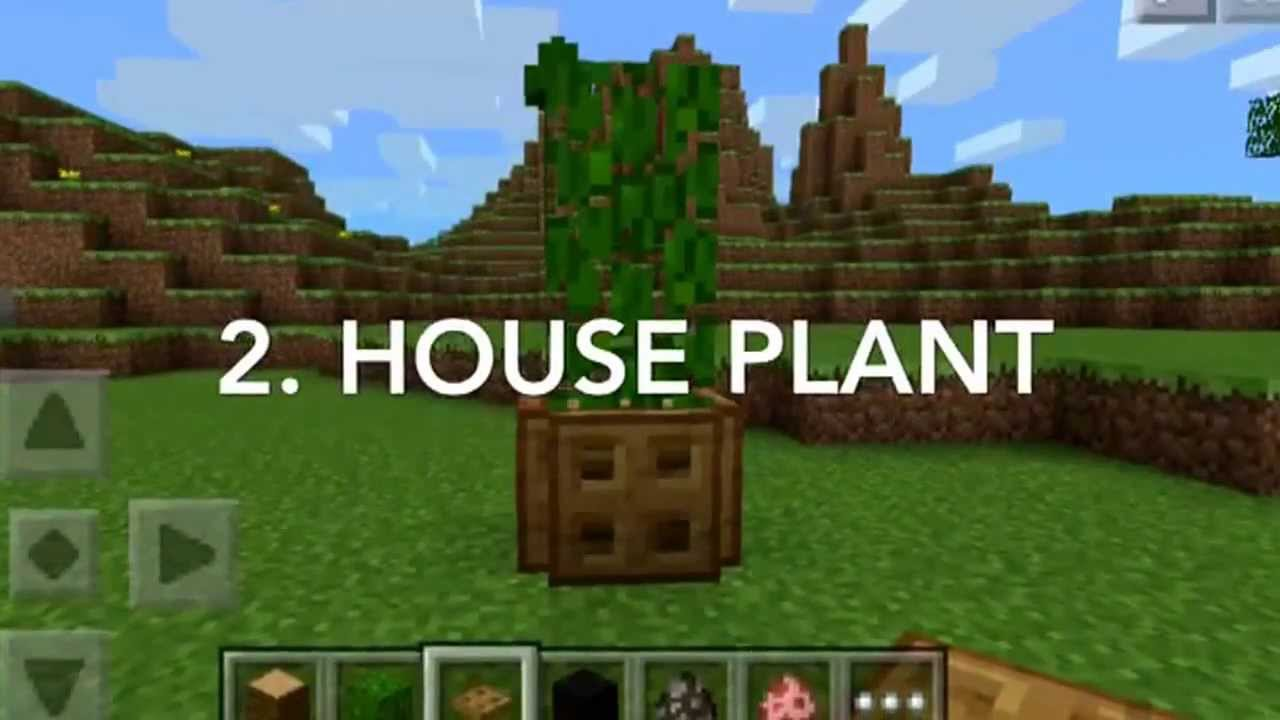 5 furniture ideas to put in your house in minecraft pe youtube