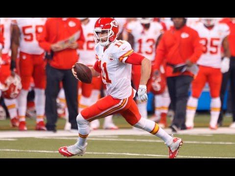 Alex Smith vs Colts (NFL Week 8 - 2016) - 127 Yards + TD! Fighting Off Injury!   NFL Highlights HD