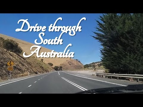 ASMR Drive Through South Australia (Fleurieu Peninsula)