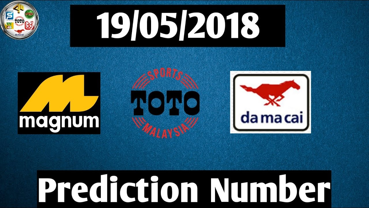 Video: Magnum 4D Prediction Number Draw 19/05/2018 - GWS