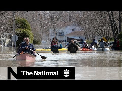 Flooding Overwhelms Parts Of Ottawa, Montreal