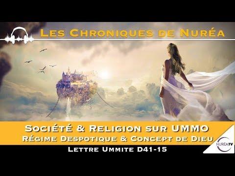 Société & Religion sur UMMO - Régime Despotique & Concept de Dieu - Lettre Ummite D41-15