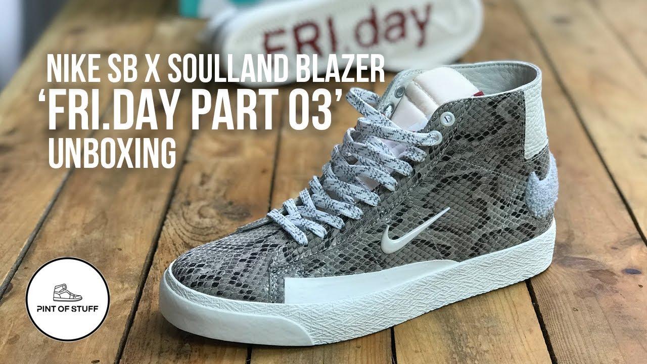 Soulland x Nike SB Snakeskin Blazer Mid