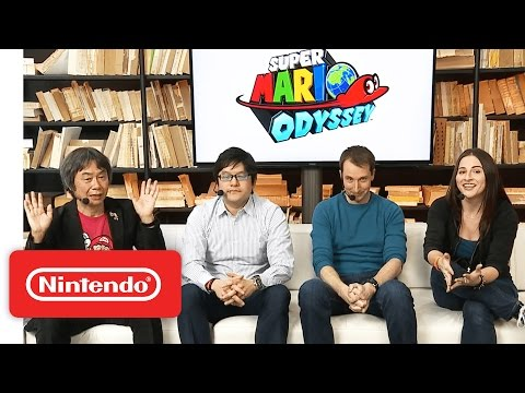 Super Mario Odyssey – Nintendo Treehouse Live with Nintendo Switch