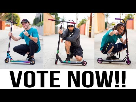 VOTE NOW!!! Mystery Color Custom Build Off │ The Vault Pro Scooters