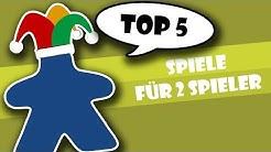 Top 5 Spiele für 2 Spieler