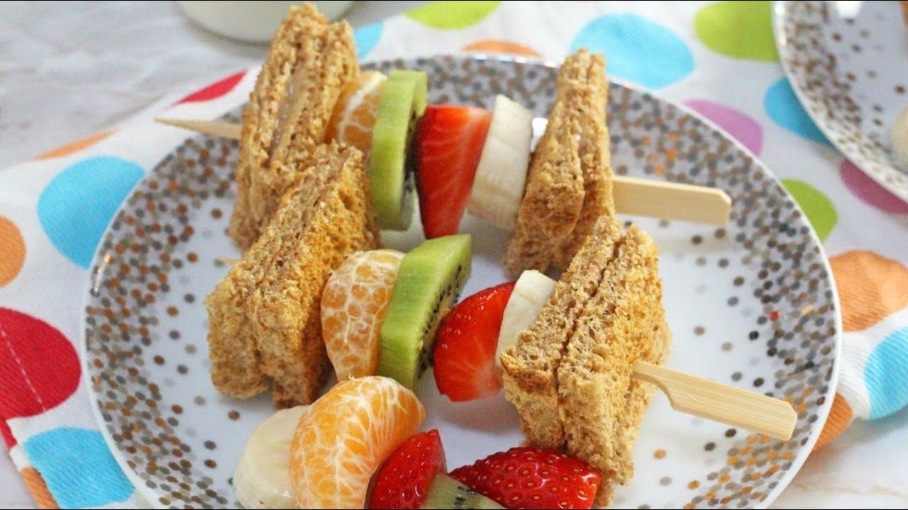 Peanut Butter Toast Amp Fruit Breakfast Kebabs Healthy