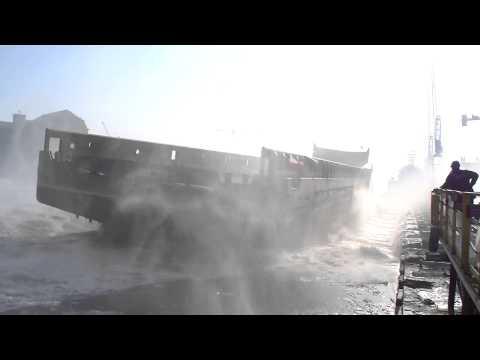 Stocznia Remontowa Shipbuilding S.A. - wodowanie 5 luty 2014