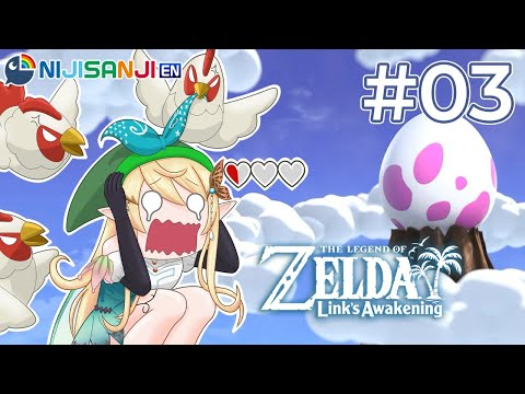 【The Legend of Zelda: Link's Awakening #03】LET'S WAKE THE WINDFISH!【NIJISANJI EN   Pomu Rainpuff】