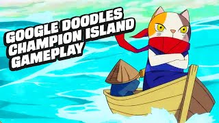 13 Minutes of Google's Champion Island Gameplay (All 7 Sports)
