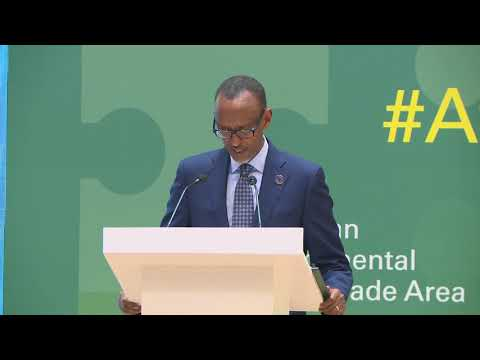 African Continental Free Trade Area Business Forum | Kigali, 20 March 2018