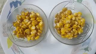 Homestyle sweet corn Masala recipe in Telugu