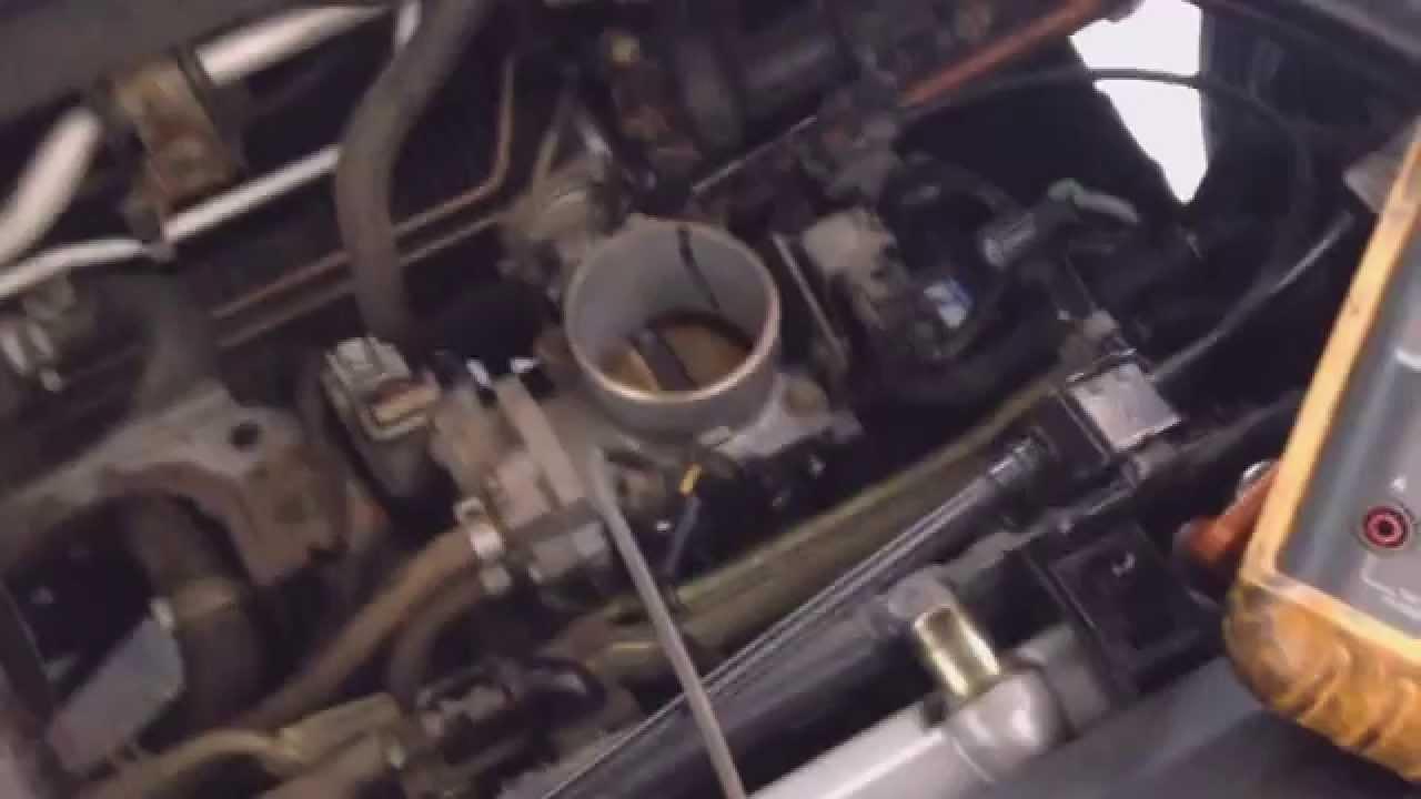 2004 Honda Civic Tps Troubleshoot Youtube Crv Wiring Diagram
