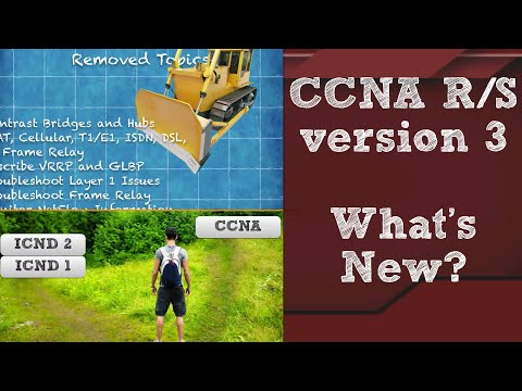 CCNA R&S version 3 What's New? - YouTube