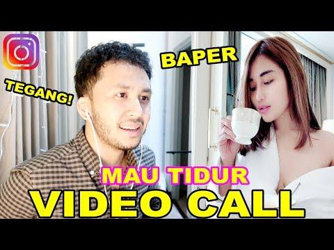 VIDEO CALL CEWE YANG LAGI GALAU TENGAH MALEM SAMPAI TUMPAH TUMPAH!! 💦 GABRIELLE HELLENA