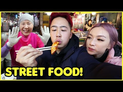 STREET FOOD IN KOREA (Netflix) ft. Staying at a Traditional Korean House | HANOK