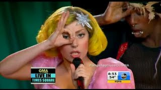 Lady Gaga - Applause (Live @ GMA) [HD]