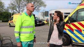 Kom bij de ambulance! Een kijkje bij Witte Kruis Kennemerland