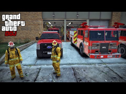 GTA 5 Roleplay – DOJ Fire 5 – Five Alarm Fire