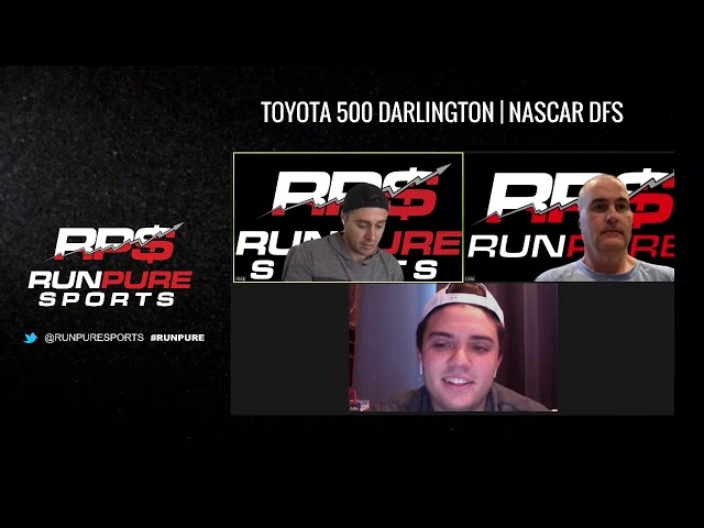 Toyota 500 Darlington   NASCAR DFS Draftkings and FanDuel Picks 5/20/20