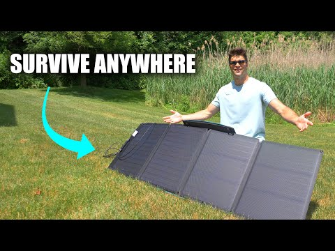 My First Sufficient Solar Panel - EcoFlow 110W Review