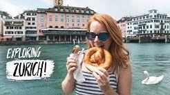 Zürich FIRST IMPRESSIONS! - Swiss Food, Epic Views & More! (Zürich, Switzerland)