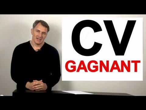 exemple de cv gagnant Coach CV : écrire le curriculum vitae gagnant 10 conseils   YouTube exemple de cv gagnant
