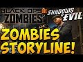 "MOB OF THE DEAD CONNECTED TO ""SHADOWS OF EVIL"" & BO3 Zombies DLC! ""Black Ops 3 Zombies Storyline"""