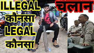 Legal Silencer for Royal Enfield | Loud exhaust challan | ENGINEER SINGH