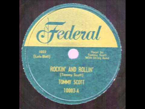 Tommy Scott Rockin' And Rollin'  FEDERAL 1000-A.