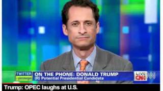 **NEW - Donald Trump w/ Rep. Anthony Weiner - TRUMP TELLS THE TRUTH ABOUT OPEC