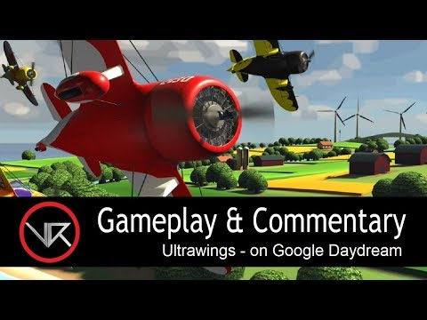The VR Shop - Ultrawings - Google Daydream Gameplay