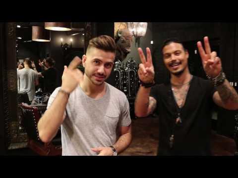 LA Hairstyle at Daniel Alfonso Men's Salon feat. Alex Costa