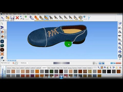 HOW to make Formal Shoe by Delcam Crispin Shoemaker
