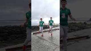 IRISH X SHUFFLE Dance to 'Maps' by Lesley Roy (Eurovision Entry 2021) #shorts #eurovision #shuffle