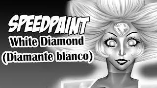 Speedpaint: White Diamond! -Steven Universe-