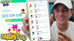 HOW TO GET UNLIMITED GIFTS IN POKÉMON GO! + ADD ME AS A FRIEND! (Trading Update Tips)