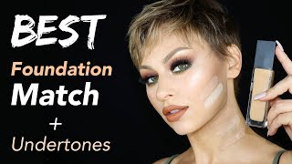 Find Your BEST Foundation Match + Undertone: Everything You Need to Know | Alexandra Anele