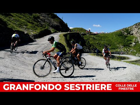 Granfondo Sestriere Colle delle Finestre 2021 | highlights