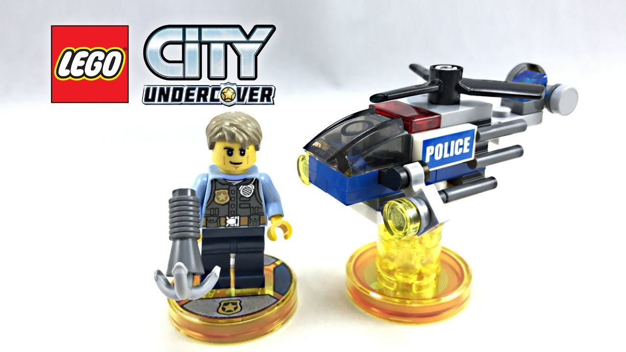 LEGO Dimensions City Chase McCain Fun Pack 71266 NEW and UNBOXED