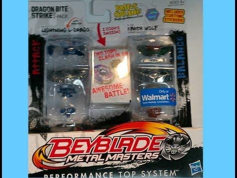 Beyblade (Toupie) Metal Masters  Unboxing Dragon Bite Strike