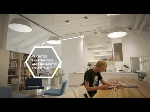 Endless Possibilities - Pentagon Design Helsinki LED Office Lighting Project